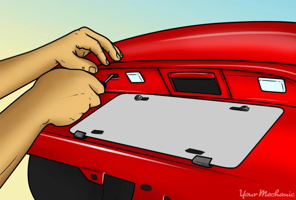 How to Install / Make Led License Plate Light