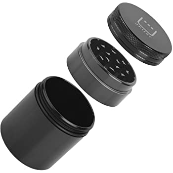 Smell Proof Herb Stash Jar Container With Grinder