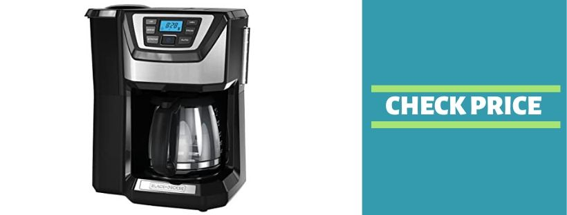BLACK+DECKER 12-Cup Mill and Brew Coffeemaker