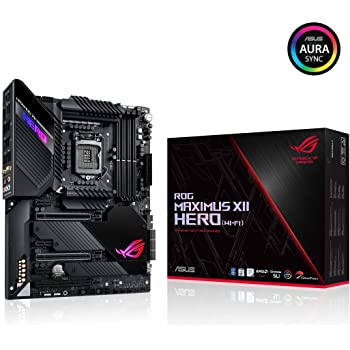 Asus Maximus XII Hero Z490 (WiFi 6) LGA 1200 (Intel 10th Gen) ATX Gaming Motherboard