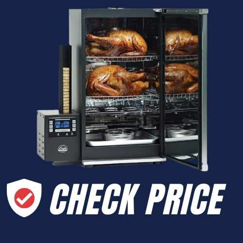 Bradley Smoker BTDS76P 990216 Bradley Digital 6 Rack Smoker