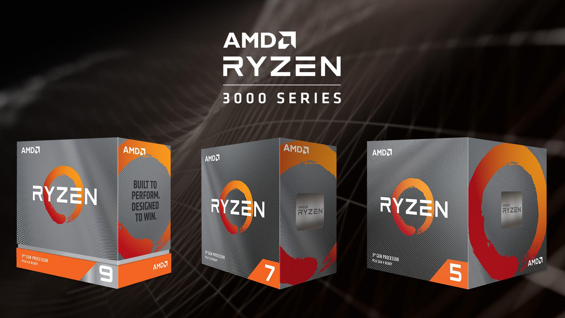 AMD Launched New Ryzen 3000 XT CPUs