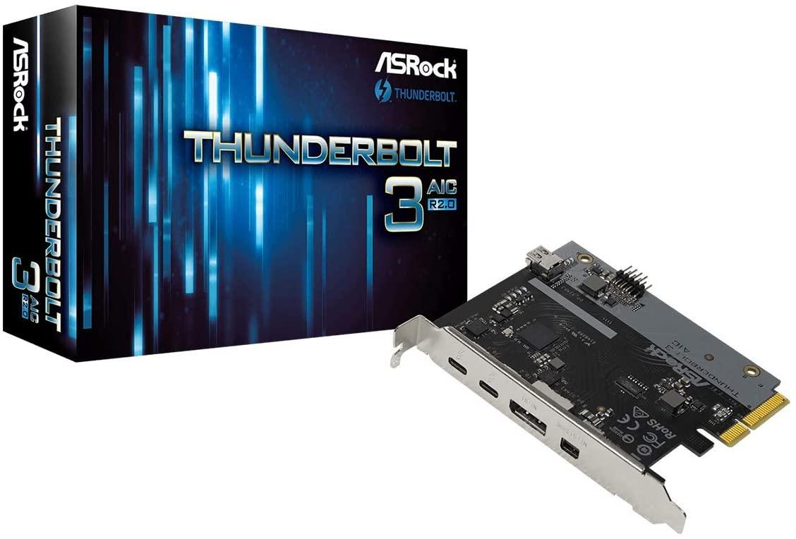 ASROCK Thunderbolt 3 AIC R2.0 Intel JHL6540 Thunderbolt 3 Controller