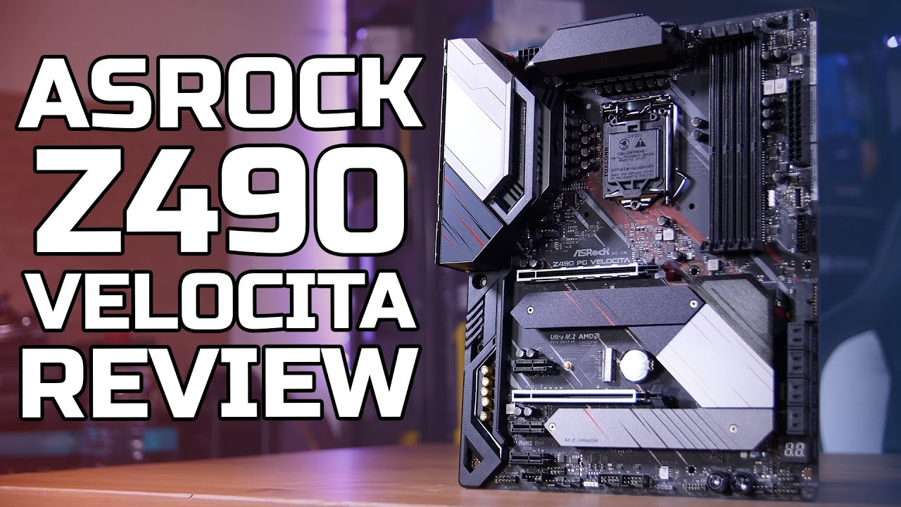 ASRock Z490 Phantom Gaming Velocita Review