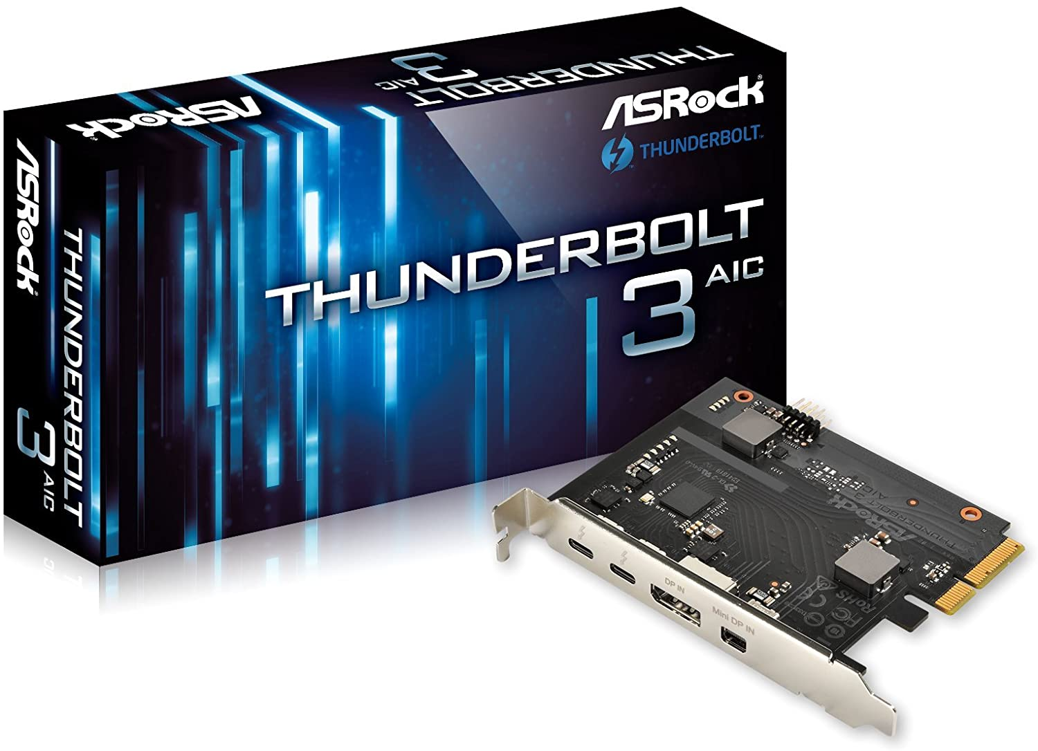 Asrock Thunderbolt 3 AIC PCI Express Card