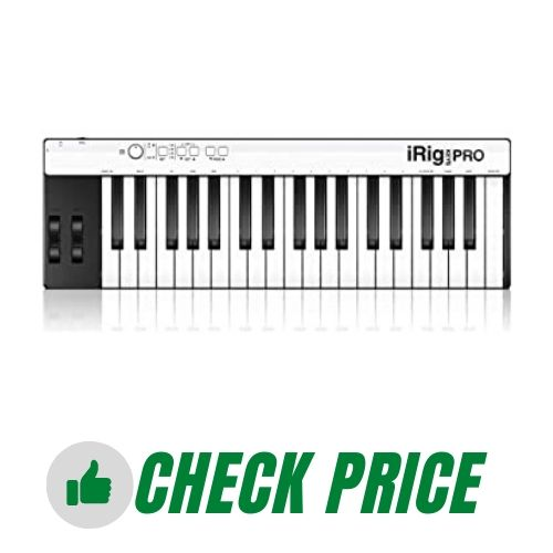 IK Multimedia iRig Keys Pro Full-sized 37-key MIDI Controller