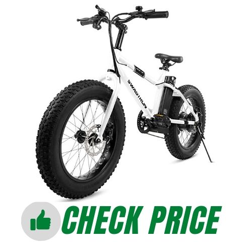 Swagtron EB-6 Bandit E-Bike for Trail Riding