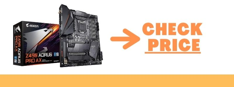 GIGABYTE Z490 AORUS Master Motherboard with WiFi-6