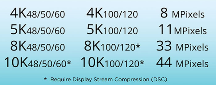 HDMI 2.1 Monitors features