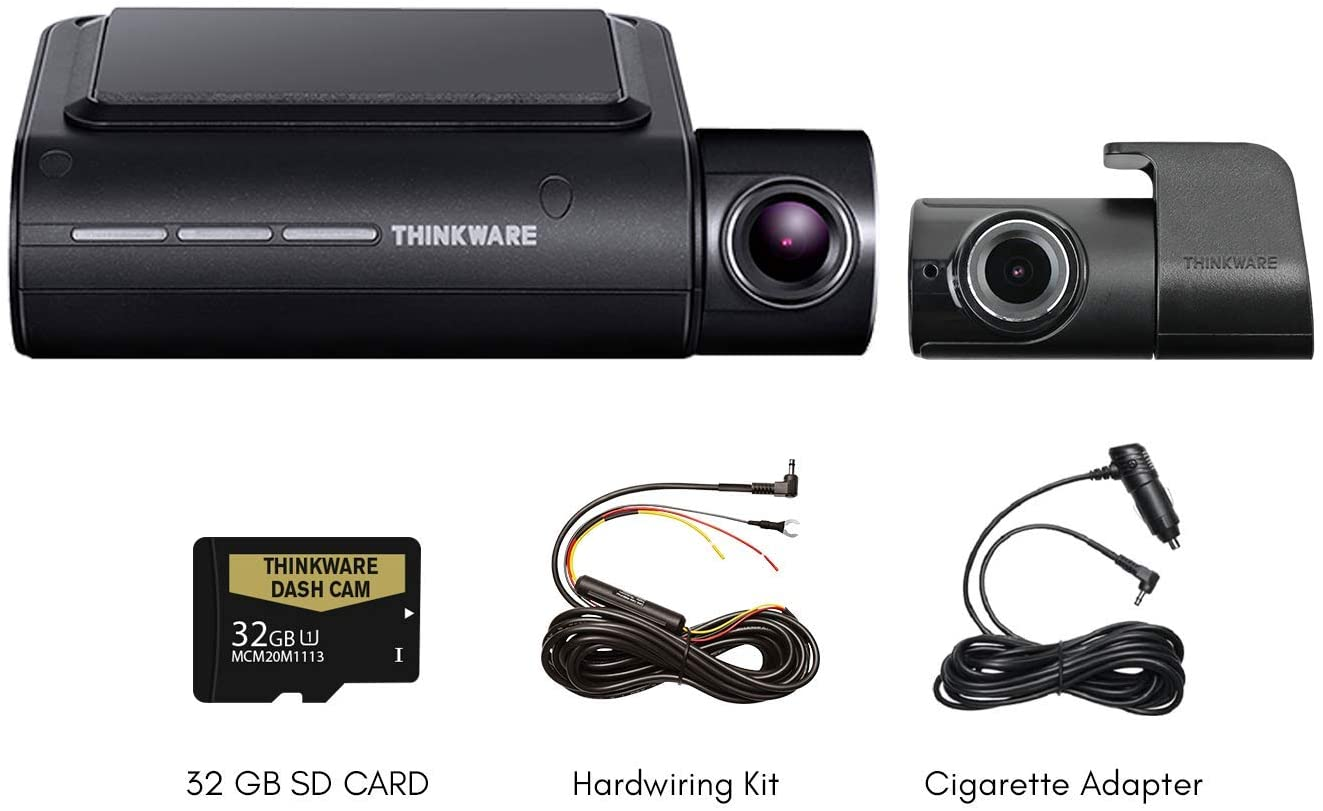 Thinkware F800 PRO 2-Channel WiFi Rearview Camera