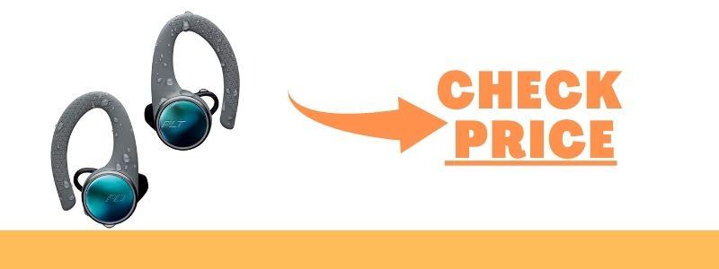 Plantronics 211856-99 Backbeat Fit 3100 True Wireless Earbuds, Sweatproof and Waterproof