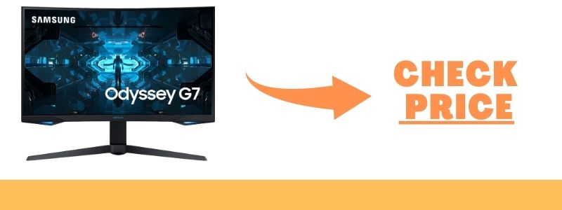 Odyssey G7 – 240Hz Gaming Monitor for RTX 3070 and 3080