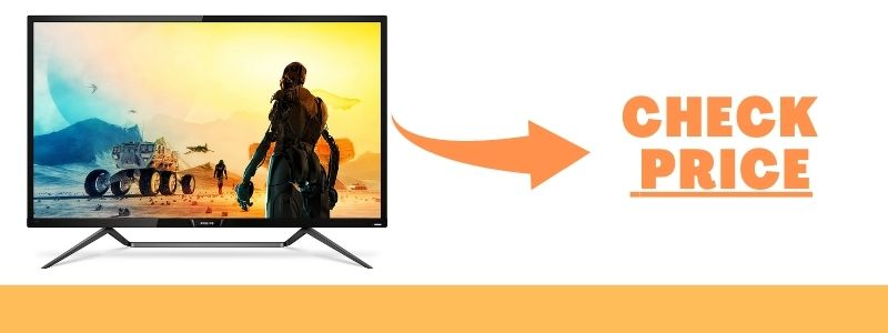 Philips Momentum 436M6VBPAB 43 4K Console Gaming Monitor Best G-Sync Screen For RTX 3090