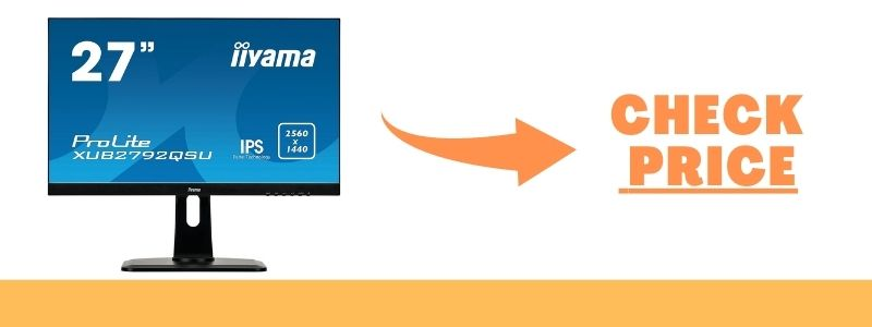 iiyama ProLite XUB2792QSU-B1 27 2K Ultra HD IPS