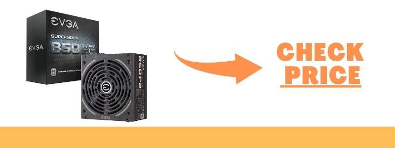 EVGA SuperNOVA 850 P2, 80+ PLATINUM 850W Power Supply