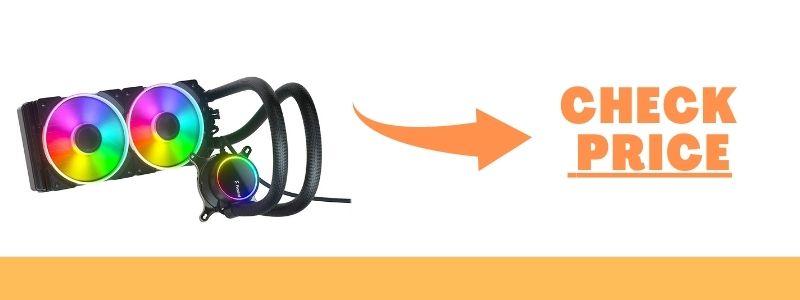Fractal Design Celsius S28 Prisma PWMA RGB 280mm AIO CPU Liquid Water Cooler