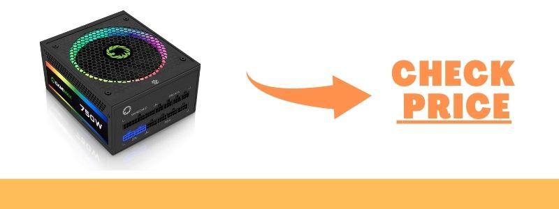 GAMEMAX RGB750-Rainbow Power Supply 750W