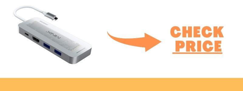 MINIX NEO S4 Storage USB-C SSD Combine M.2 SSD Storage 480GB