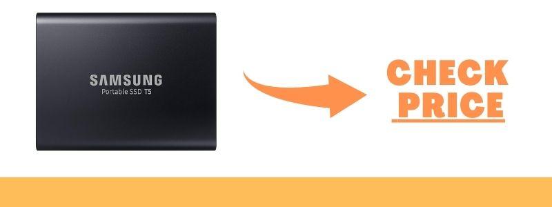 SAMSUNG T5 Portable SSD 1TB