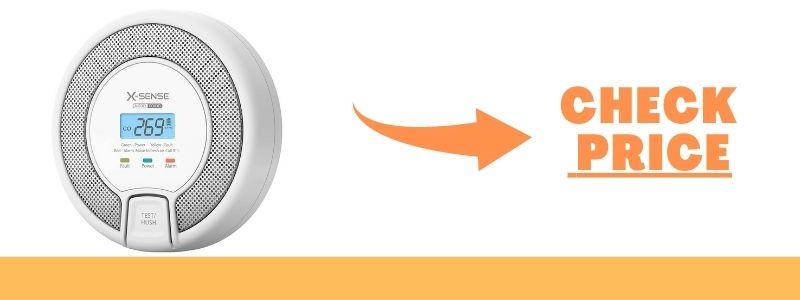 X-Sense Carbon Monoxide Detector Alarm, CO Alarm Detector Model CO03D