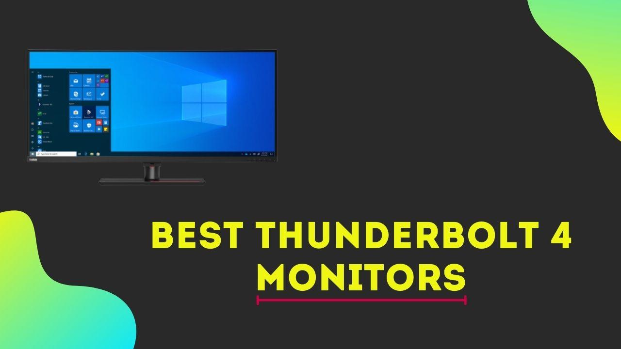 Best Thunderbolt 4 Monitors